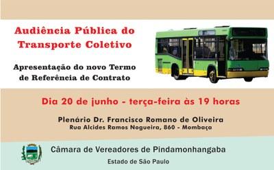 Audiência Pública - Transporte Coletivo
