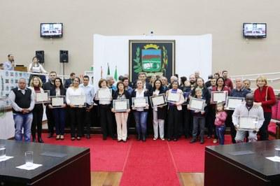 Câmara de Pindamonhangaba comemora Semana Nacional da Família com Sessão Solene