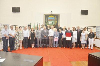 "Câmara de Pindamonhangaba realiza Sessão Especial para entrega de medalha ""Athayde Marcondes"" e título ""Post Mortem"""