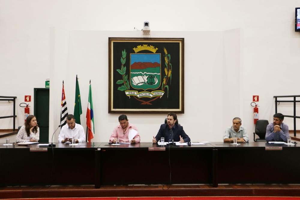 Câmara realiza Audiência Pública para discutir regulamentação do serviço de transporte individual em Pindamonhangaba