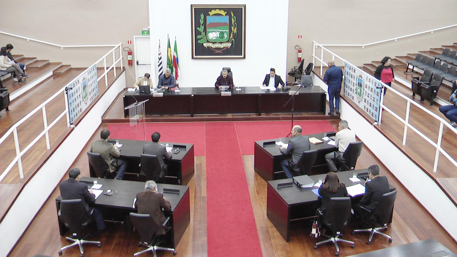 Câmara realiza primeira Sessão Ordinária do 2º semestre com três proposituras na Ordem do Dia