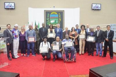 Dia da Consciência Negra é comemorado com Sessão Solene na Câmara de Vereadores de Pindamonhangaba