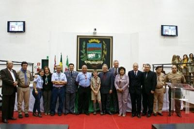 Escoteiros são homenageados em Sessão Solene realizada na Câmara de Vereadores