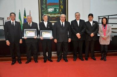 Maçonaria é homenageada em Sessão Solene da Câmara