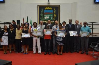 Câmara realiza solenidade para comemorar o Dia da Consciência Negra