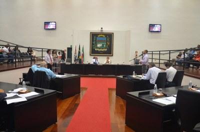 Sessão é marcada por pedidos de manutenção do cargo do Diretor de Agricultura e do projeto Excelência Esportiva