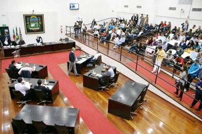 Vereadores rejeitam Projeto que amplia número de cadeiras para Legislatura 2017-2020